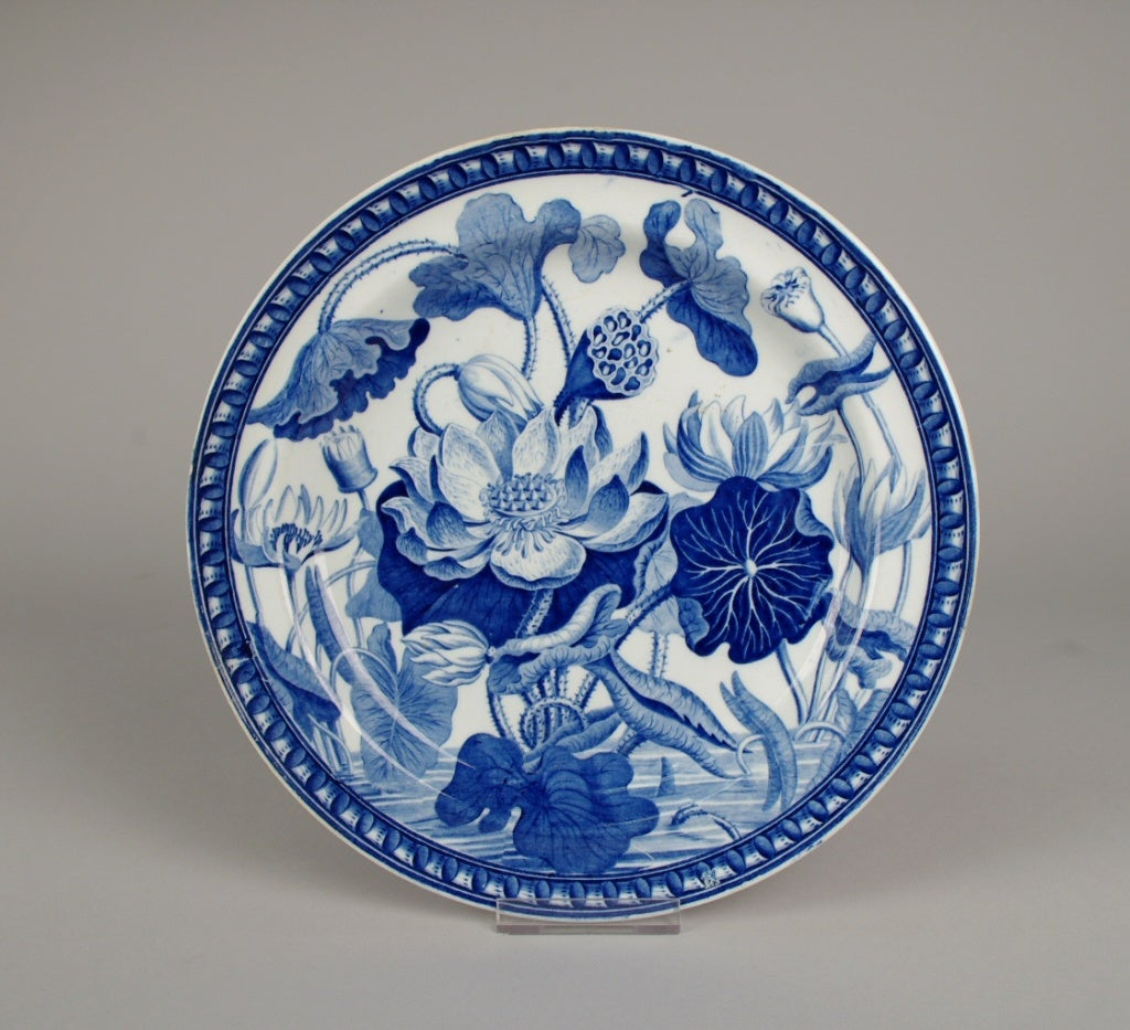 Wedgwood Pearlware Water Lily Plate 2