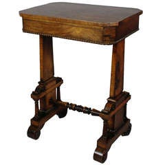 Wonderful Victorian Rosewood Work Table