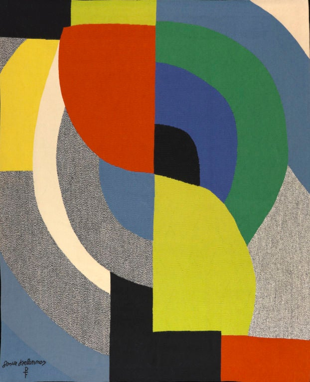 Sonia Delaunay Tapestry 2