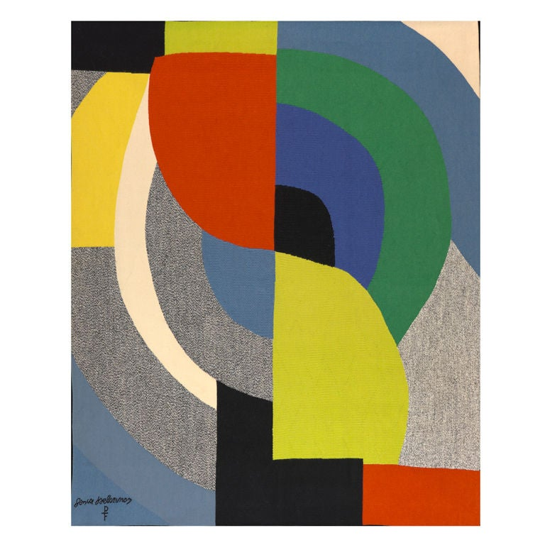 Sonia Delaunay Tapestry 1