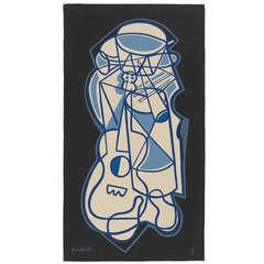 Emiliano Di Cavalcanti Aubusson Tapestry