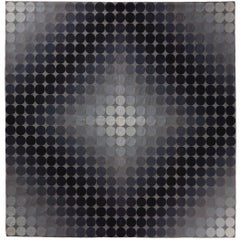 Victor Vasarely Aubusson Tapestry