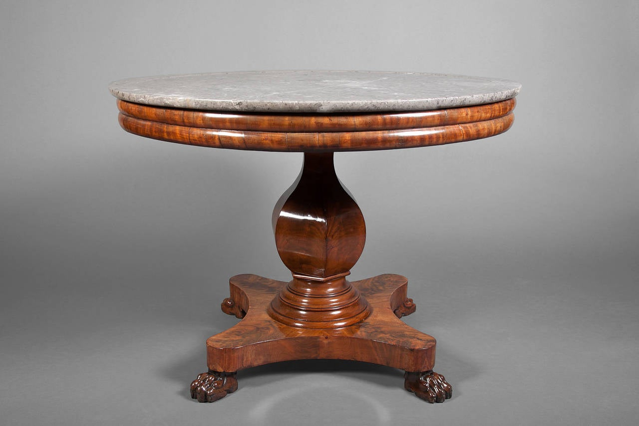 Louis philippe center table for sale at 1stdibs for Table ronde louis philippe