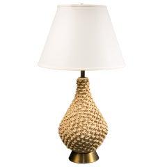 Single Pineapple Shaped Lamp