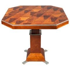 American Art Deco Games Table