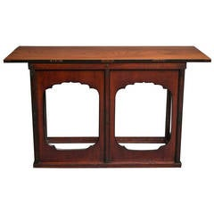 Japanese 19th Century Alter Table with Keyaki Wood Top