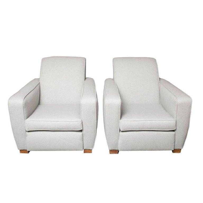 Pair of Modern Armchairs