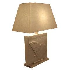 American Plaster Lamp.