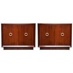 Pair of American Art Modern Cabinets