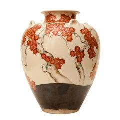 Japanese 19th Century Kozan Studio Vase
