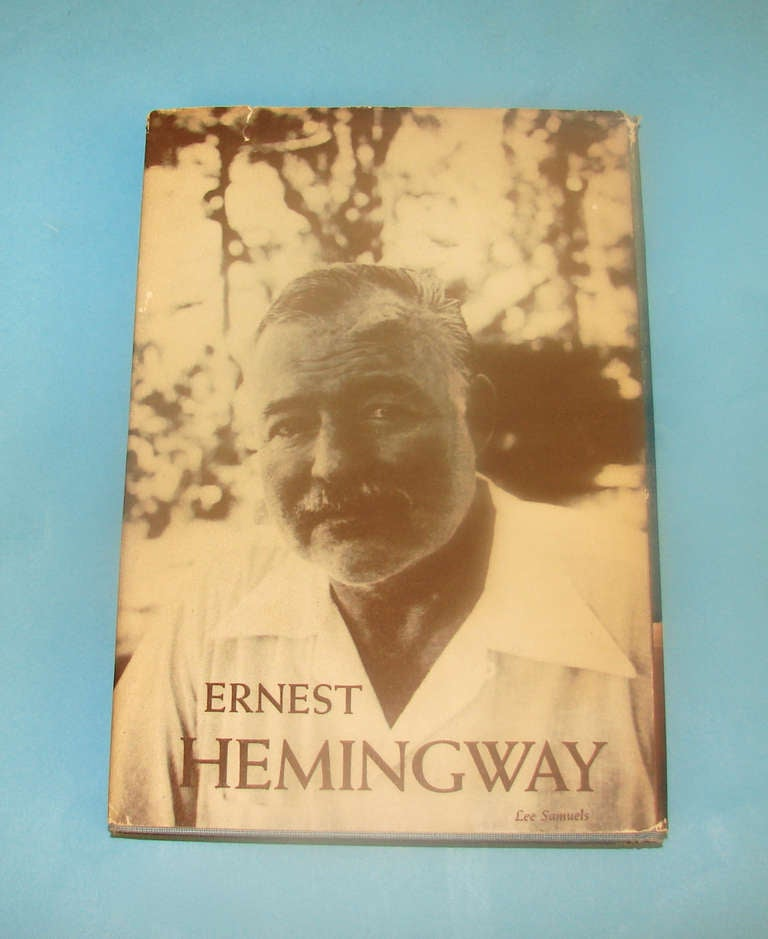 First Edition Hemingway's Book