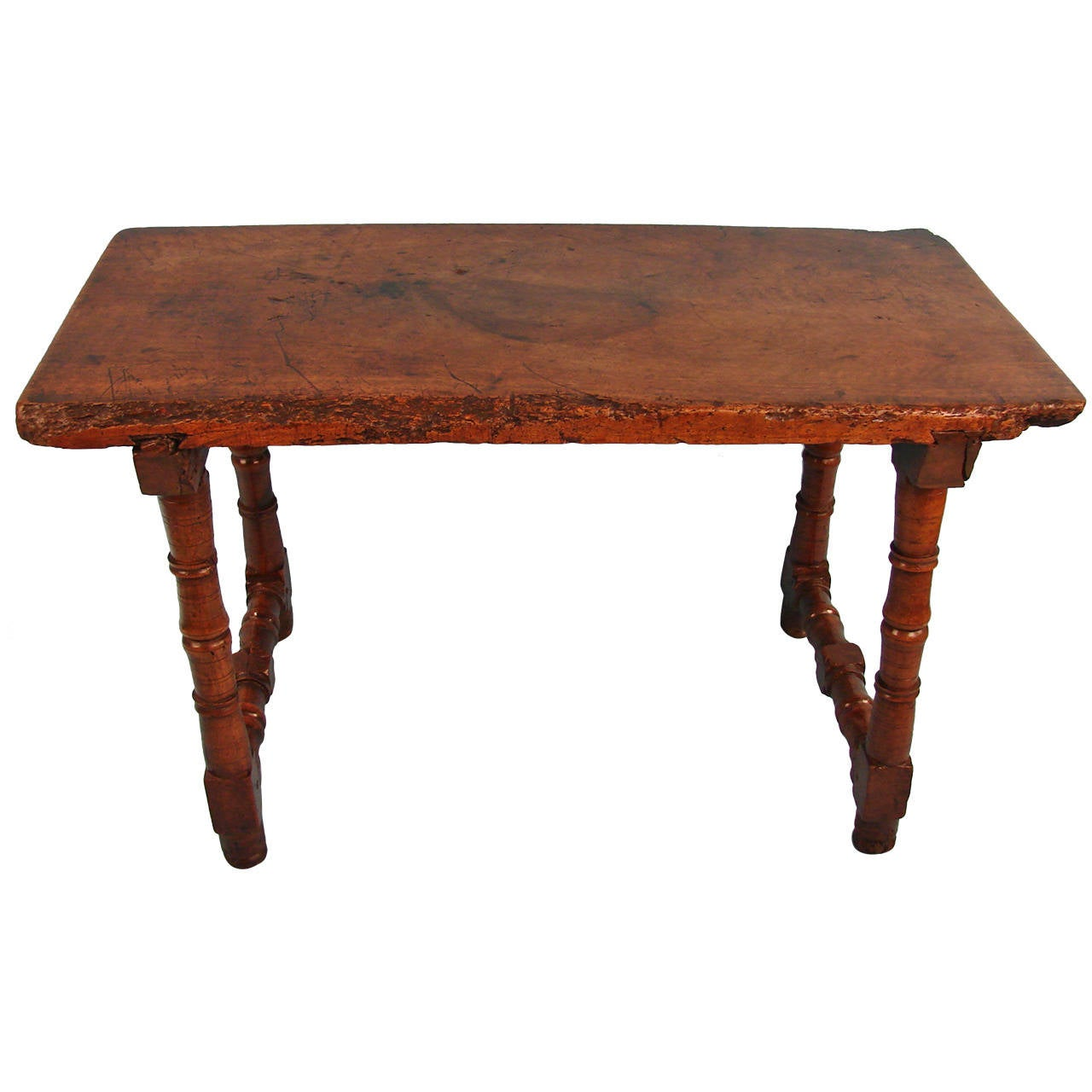 Spanish baroque walnut table at 1stdibs for Ptable in spanish