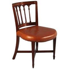 English Regency Mahogany Desk Chair