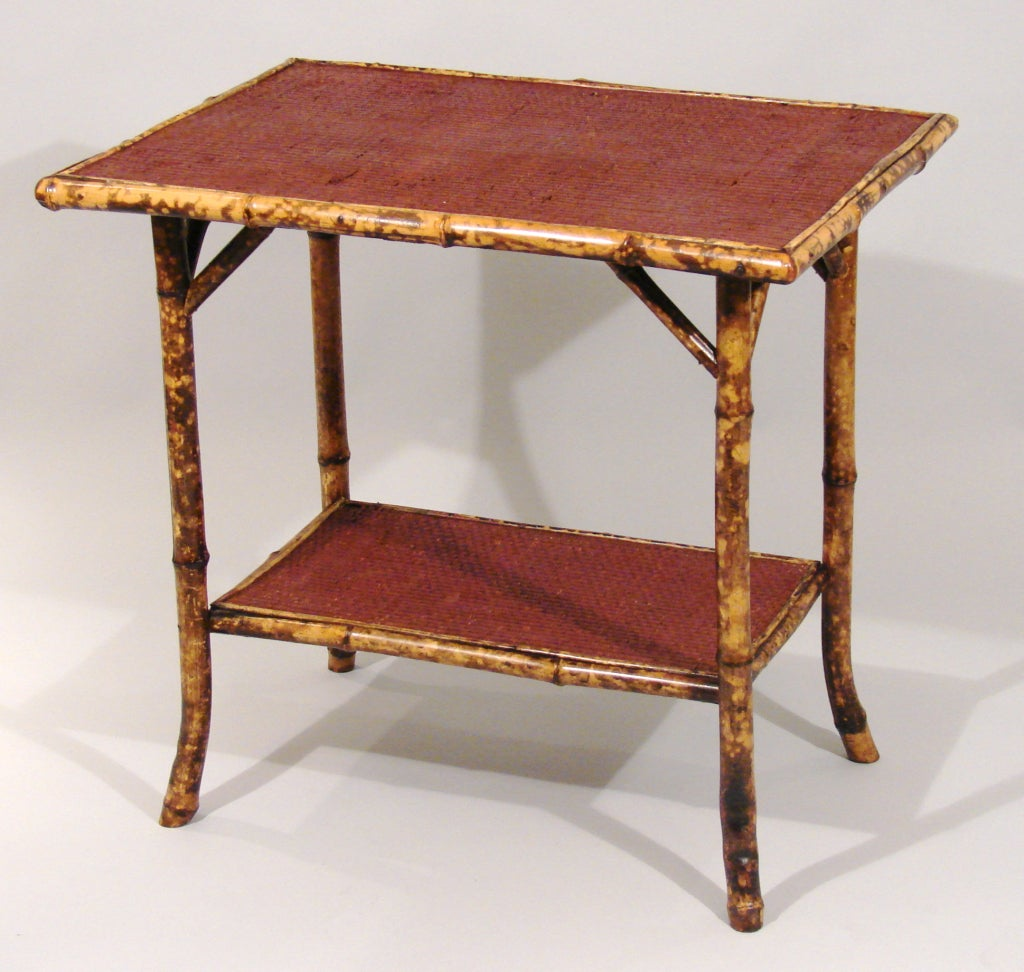 A victorian bamboo side table at 1stdibs for Bamboo side table