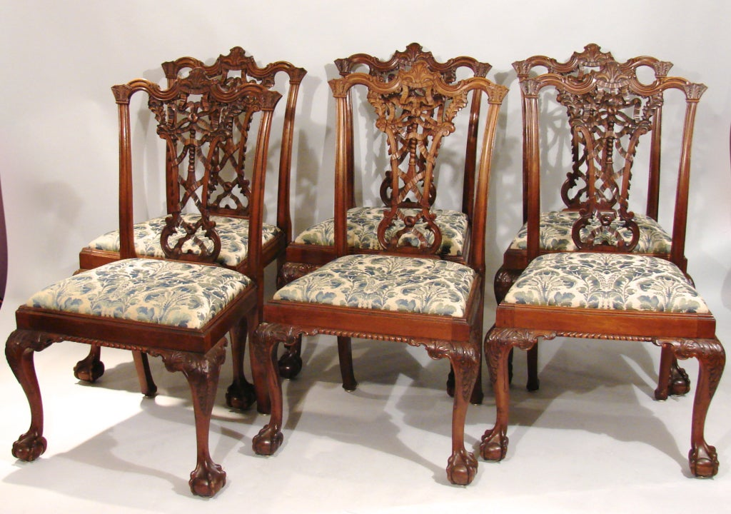 28+ [ Chippendale Dining Room Furniture ]   Paine Furniture ...