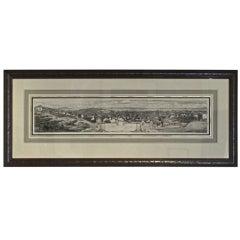 Meryon Etching of San Francisco, 1856
