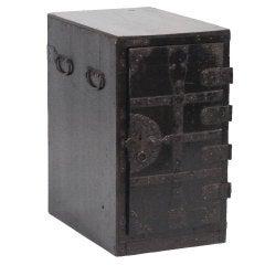Japanese Merchant or Banker's Safe 'Zenibako'