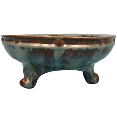Fulper Art Pottery Footed Bowl