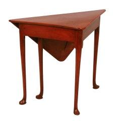 Georgian Mahogany Envelope Table