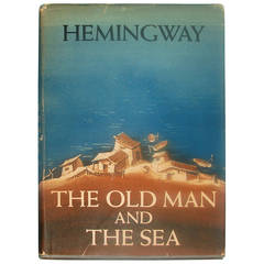 """First Edition Hemingway's Book """"The Old Man and the Sea"""""""