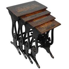 Fine Set of Chinese Export Quartetto Tables