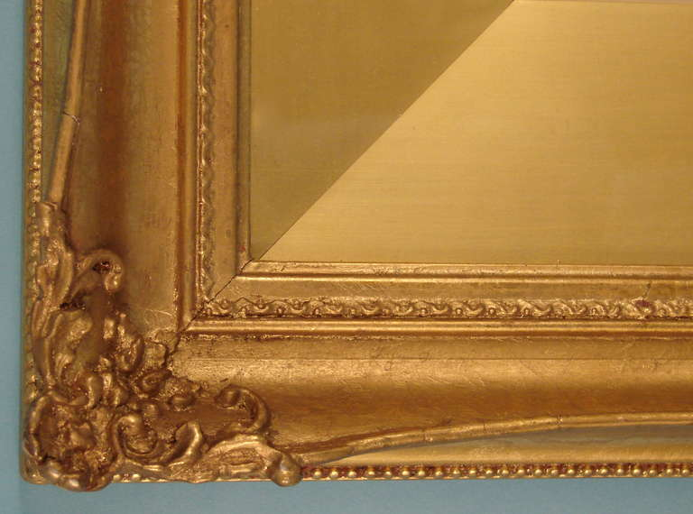 Lovely English Watercolor by Charles Gregory in Period Frame In Good Condition For Sale In San Francisco, CA
