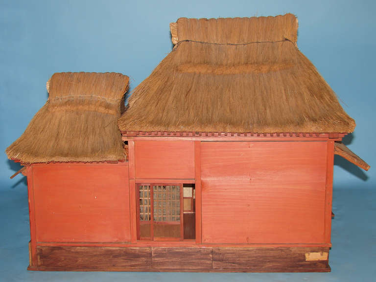 Extraordinary and unique model of a japanese tea house for for Architecture models for sale