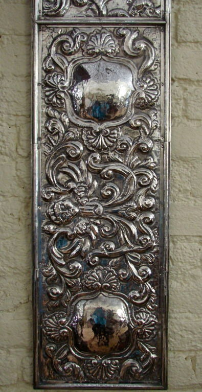 Colonial Wall Paneling : Pair of spanish colonial alter panels at stdibs