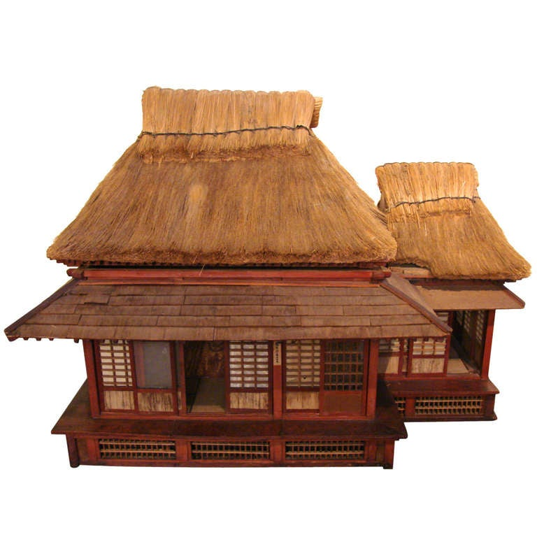 Extraordinary And Unique Model Of A Japanese Tea House For Sale