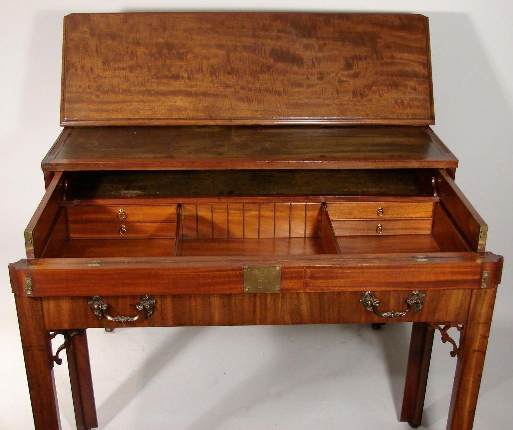 george iii mahogany architect 39 s desk at 1stdibs