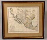 1768 Map of Texas by Josef Antonio de Alzate y Ramirez