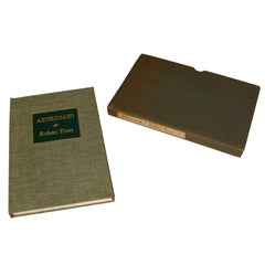 Signed First Edition of Aforesaid by Robert Frost with Slipcase
