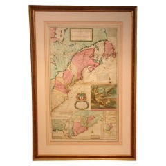 "Moll's Famous ""Beaver Map"""