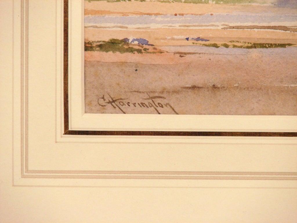 Charles Harrington (British 1865-1943) Pair Watercolors at 1stdibs