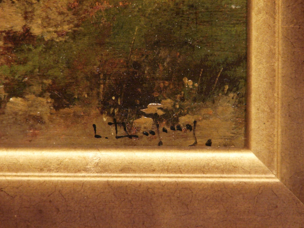 19th Century Pair of French Oil on Boards by Eugene Galien-Laloue