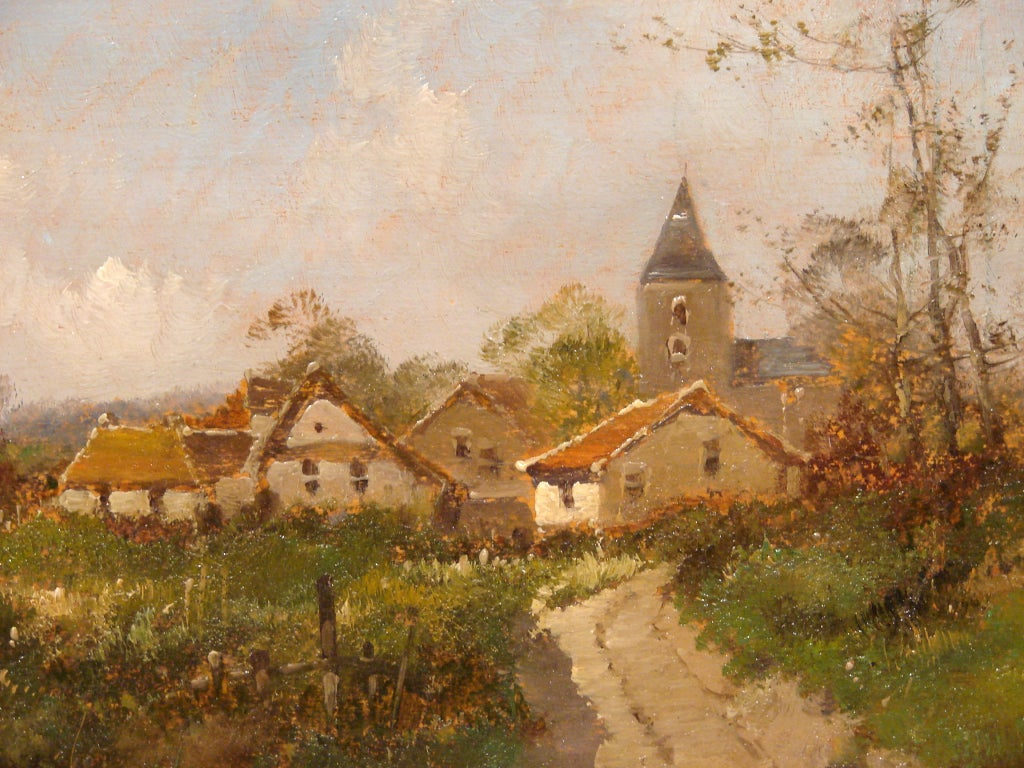 Pair of French Oil on Boards by Eugene Galien-Laloue 3