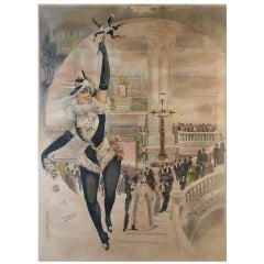 Rare Theatre de l'Opera Poster