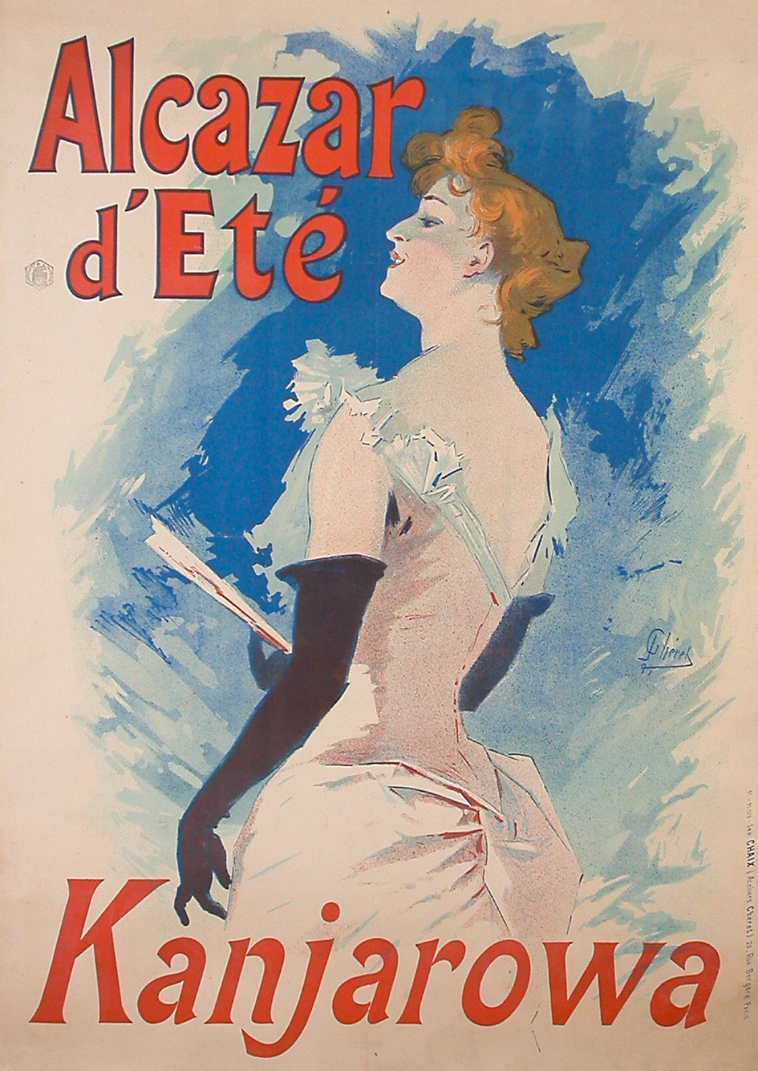 Original French Poster by Cheret