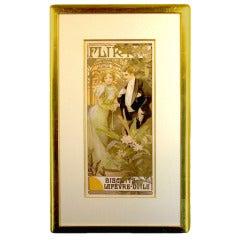 Original Art Nouveau Poster by Mucha
