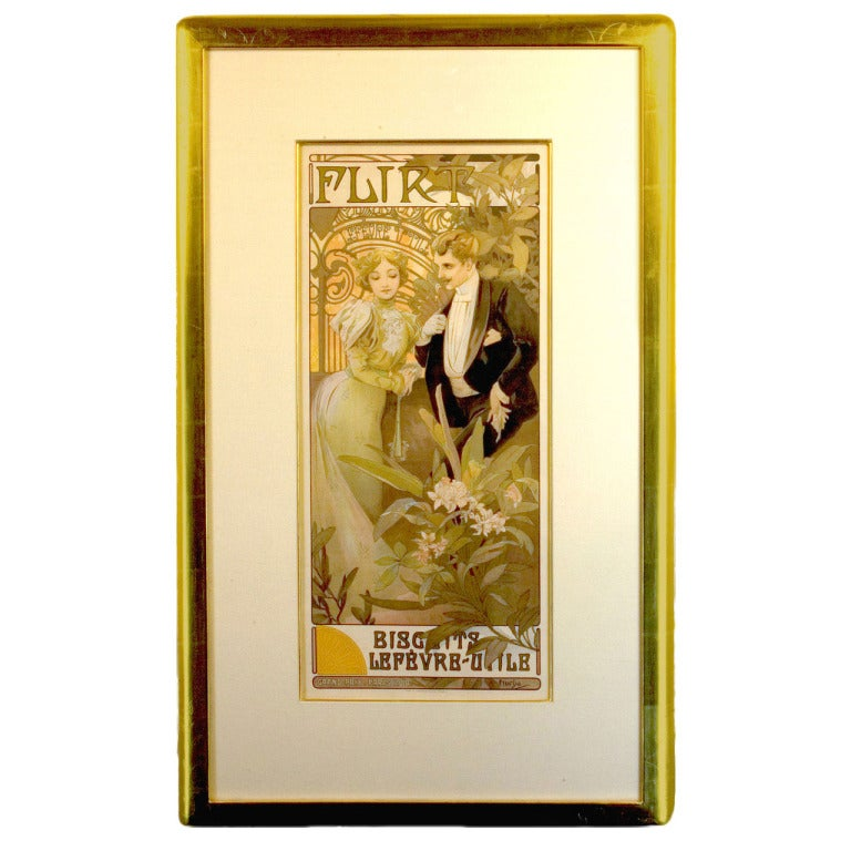 Alphonse Mucha Seasons Original