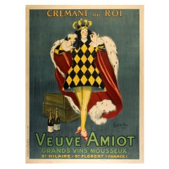 Original French Champagne Poster