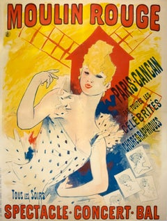 Original Cheret Moulin Rouge Poster