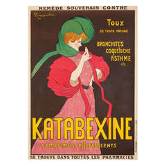 Original French Advertising Poster by Cappiello
