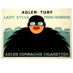 Vintage Cigarette Poster Ad