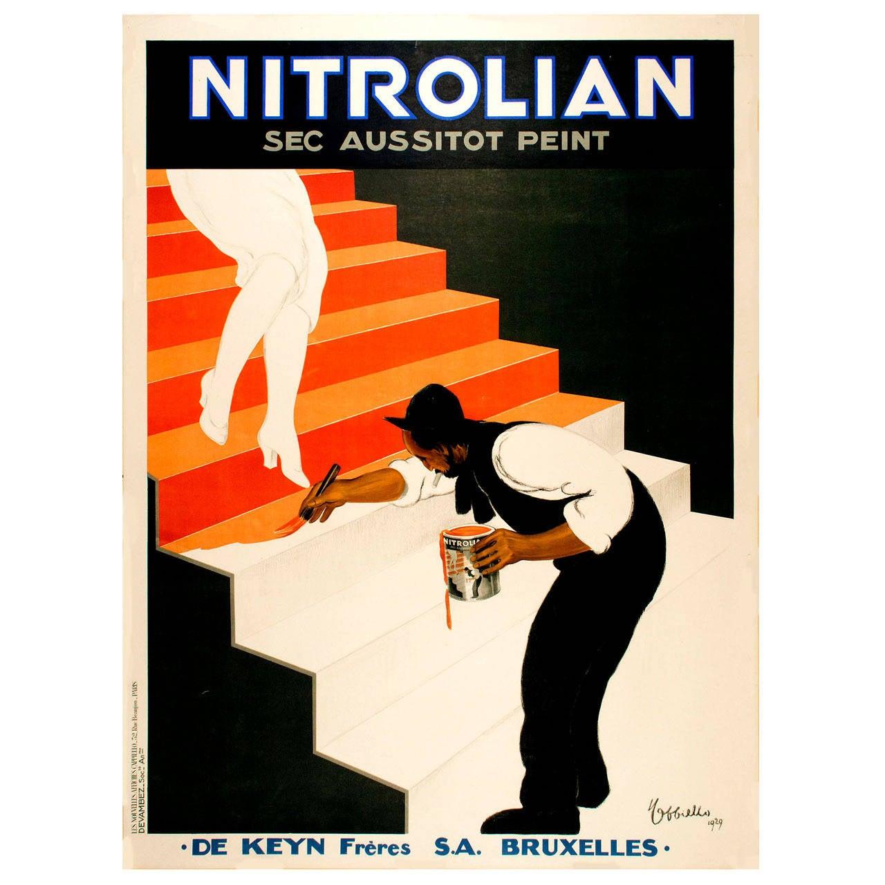 "Vintage Cappiello Poster for ""Nitrolian"""