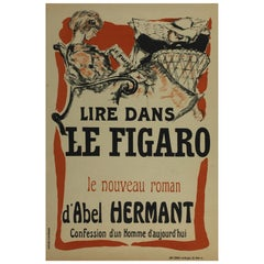 Pierre Bonnard's Original Poster for Le Figaro, the French Newspaper