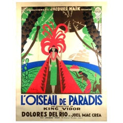 Poster of French Release of American Film