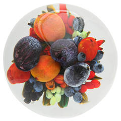 Rick & Melissa Ayotte Super Magnum Fruit Bouquet Paperweight