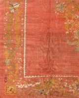 Antique Oushak Rug image 2