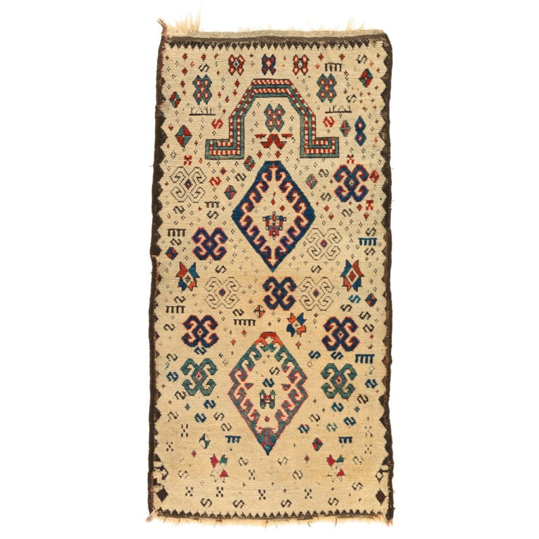 Prayer Rug Types: Caucasian Zakatala Prayer Rug At 1stdibs